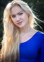 Marina from Kiev, Ukraine. Marriage minded beautiful never been married