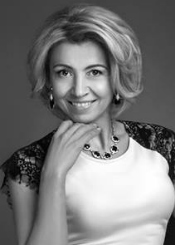 Nina from Kiev, Ukraine. Smart and positive divorced