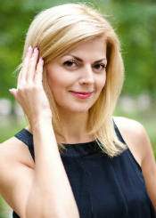 Yuliia from Rivne, Ukraine. Smart and serious, speak English with interpreter