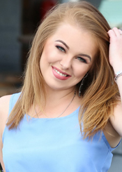 Viktoriia  from Poltava, Ukraine. Charming and attractive lady divorced